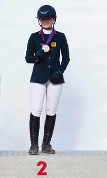 Holly Truelove wins Individual Silver at the Pony European Championships