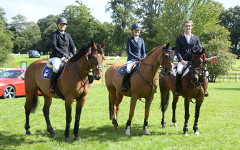 Three take the top honours in the final Speedi-Beet HOYS Grade C Qualifier at Bicton Arena