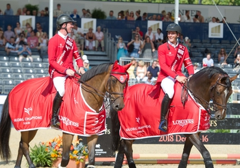 Ben Maher & London Knights Shine in Show Stopping GCL Chelsea