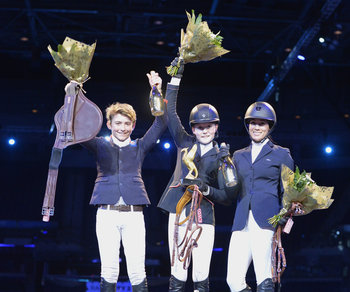 WIZARD WEAVES MAGIC AT THE EQUESTRIAN.COM LIVERPOOL INTERNATIONAL HORSE SHOW