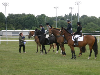 Wolverhampton Racecourse Show Jumping on June 5