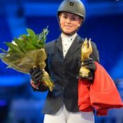 NEW YEAR'S DAY DELIGHT FOR ANNABEL SHIELDS AT EQUESTRIAN.COM LIVERPOOL INTERNATIONAL HORSE SHOW