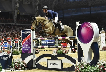 SCOTT BRASH TO RETIRE ONCE-IN-A-LIFETIME MARE, URSULA XII, AT OLYMPIA, THE LONDON INTERNATIONAL HORSE SHOW
