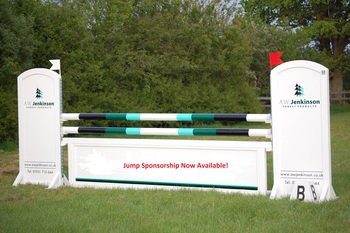 Show Jump Sponsorship available