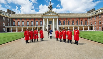 Olympic Star Scott Brash launches countdown to show jumping spectacular at Royal Hospital Chelsea