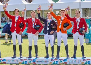 Birthday Success for Jack Whitaker & Team Europe win Silver at Youth Olympic Games, Buenos Aires