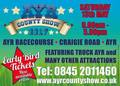 Ayr Agricultural Show - Saturday 13th May 2017 - Information