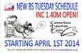 Summerhouse EC Senior British Showjumping: New Tuesday Schedule now including 1.40m Open! Starts 1st April 2014!