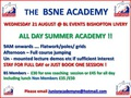 North East Academy All Day Training - Wednesday 21st August 2013