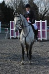 OLIVIA MEJIAS Winner of the 90cm British Showjumping Club Class at Milton College