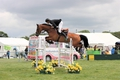 Carmen Edwards takes the top spot in the British Horse Feeds Speedi-Beet HOYS Grade C Qualifier at The Cheshire Horse Show
