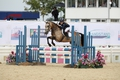 Katie Bradburne and Runaway Dolly take the Pony Bronze League 128cm Title