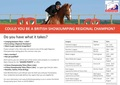 British Showjumping Club Championship Venues....