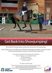 'Get Back Into' British Showjumping Training at The College Keysoe with Dan Delsart