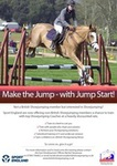 British Showjumping 'Jump Start' training at Brook Farm, Essex with Annette Lewis