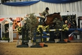 Staffordshire Showjumper Lydia Parrott takes the Haygain Hay Steamers Diamond Final as her own