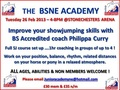 New Date for the North East Academy - Tuesday 26th February