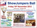 North East Area Showjumper's Ball - Friday 16 November
