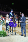 Aberdeenshire's Nicole Lockhead Anderson wins The Stable Company HOYS 138cm Championship
