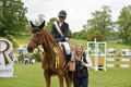 Nicole Pavitt wins the Equitop Myoplast Senior Foxhunter Second Round at Bicton Arena