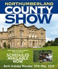 PRE ENTRY NOW RE OPENED UNTIL MIDDAY ON MONDAY 20TH MAY - NORTHUMBERLAND COUNTY SHOW - MONDAY 27TH MAY