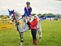 Olivia take top spot in the Grand Prix at Askham Bryan's first show