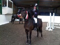 Kalie Sherry Wins 90cms British Showjumping Club Class at Brook Farm TC