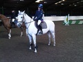 Sarah Mackmin at British Showjumping Club Show at Brook Farm Essex