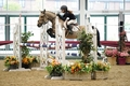 Cate Kerr & Dunbarover IV win the British Showjumping 128cm Championship