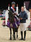 Amy Morris wins the 128cm Championship at Horse of the Year Show