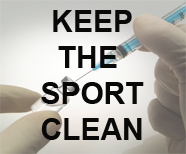 Keep the sport clean